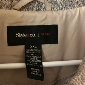 Style & Co Jackets & Coats - Quilted vest